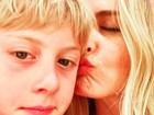 Angélica se declara a Benício no dia do aniversário do filho: 'Me orgulha'