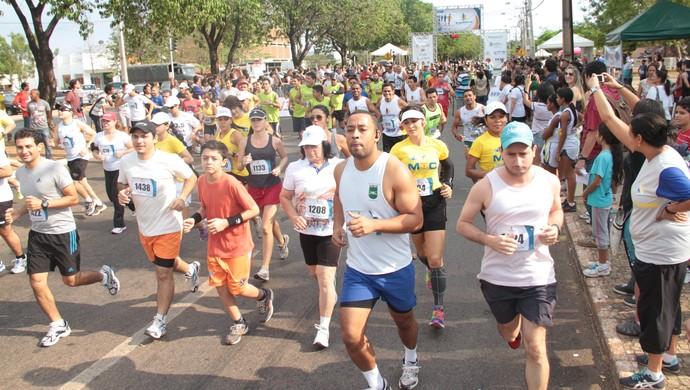 Um dos maiores eventos esportivos do estado, a Meia Maratona do Tocantins chega a 13ª edição neste ano  (Foto: Divulgação/SEL)