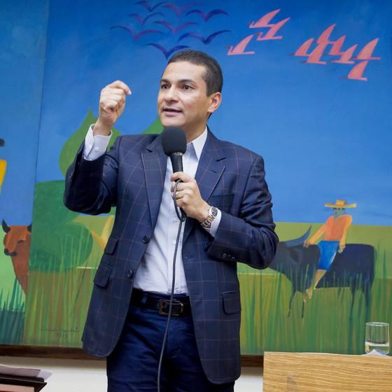 Marcos Pereira,  ministro da Indústria, Comércio Exterio e Serviços  (Foto: Divulgação/PRB)