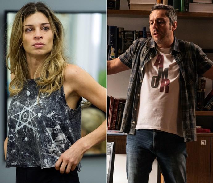 Grazi Massafera em 'Verdades Secretas' e Alexandre Nero em 'A Regra do Jogo' (Foto: Estevam Avellar e Pedro Curi/TV Globo)
