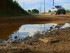Situação de avenida em Araxá gera transtornos e perigos para motoristas