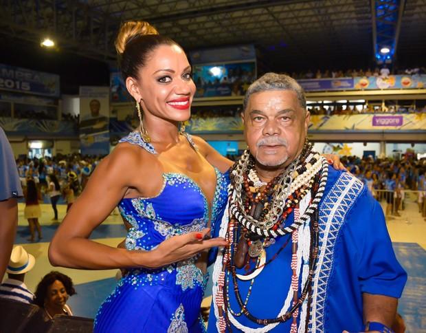 Ana Paula Evangelista e Laíla (Foto: Rodrigo Mesquita / Divulgação R2 Assessoria)