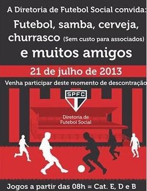 convite São Paulo (Foto: Reprodução)