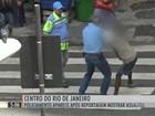 Policiamento reaparece no centro do RJ após reportagem sobre assaltos