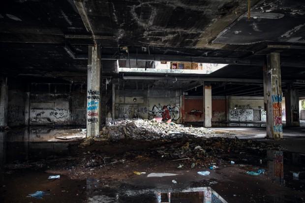 Moradores da região próxima ao shopping dizem ter medo (Foto: Glauco Araújo/G1)