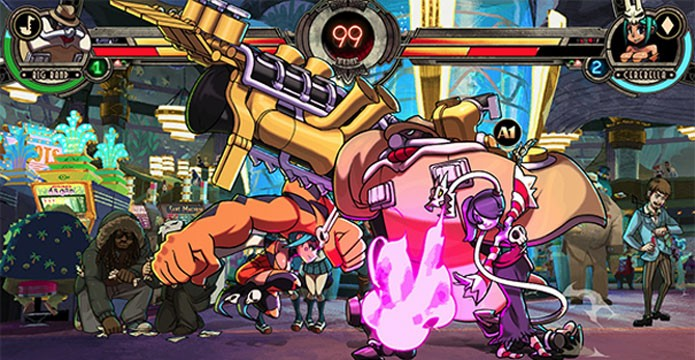 Skullgirls 2nd Encore no PS4 (Foto: Divulgação)
