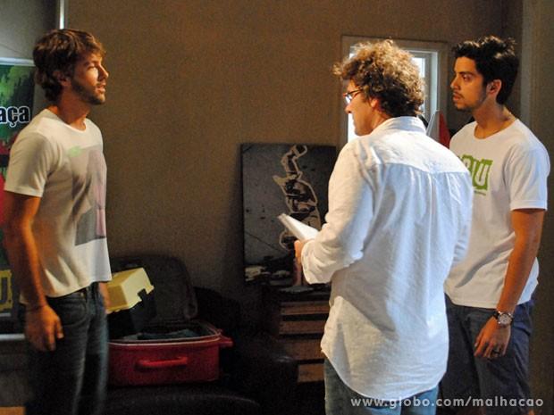 Kayky vai interpretar um Ricardão, só que não vai dar em cima da Fatinha não! (Foto: Malhação / Tv Globo)