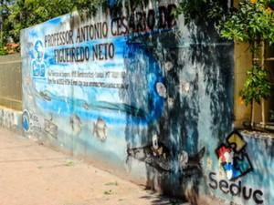 Eleitores terão que votar na Escola Antônio Cesário Neto, em Cuiabá (Foto: Alair Ribeiro/TRE-MT)