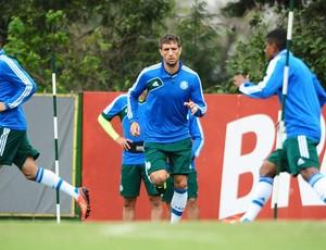Eguren treino Palmeiras (Foto: Marcos Ribolli)