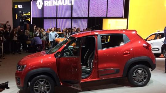 Renault Kwid custa a partir de R$ 29.990