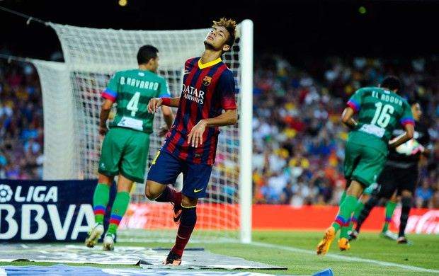 Neymar barcelona levante (Foto: Agência Getty Images)
