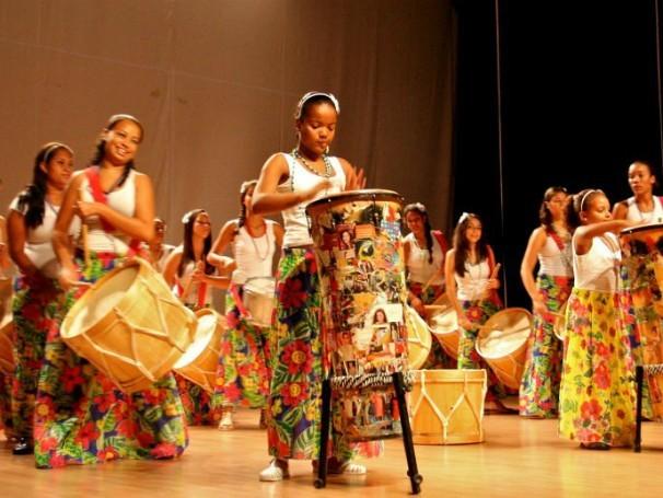 As Valquírias - projeto apoiado pelo Criança Esperança (Foto: Divulgação)