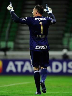 Fernando Prass, São Paulo x Palmeiras (Foto: Marcos Ribolli)