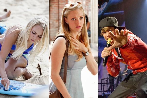 Cine Fã-Clube tem 'Soul Surfer - Coragem de Viver', 'Cartas para Julieta' e 'Justin Bieber: Never Say Never' (Foto: Divulgação)