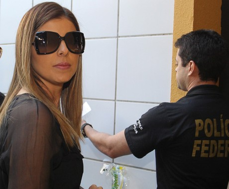 Andressa Mendonça, mulher de Carlinhos Cachoeira (Foto: Givaldo Barbosa/Agência O Globo )