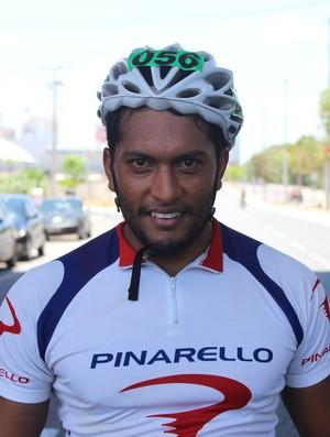 Kézio Craveiros, campeão de etapa do Piauiense de Ciclismo (Foto: Wenner Tito)