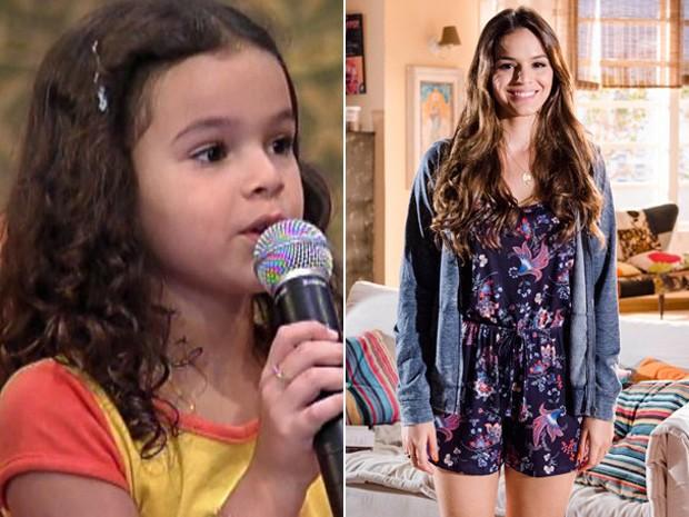Bruna Marquezine (Foto: Vídeo Show / Ellen Soares / TV Globo)