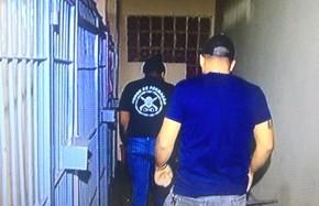 Vigilantes estão presos em Rio Verde, Goiás (Foto: Reprodução/ TV Anhanguera)
