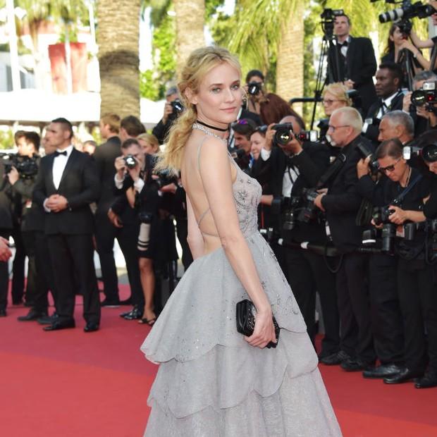 Diane Kruger em Cannes 2017 (Foto: Getty Images)