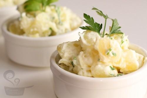 Salada de Batata com maionese aerada