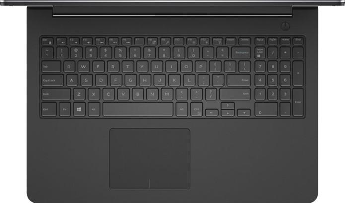O Inspiron 5000 conta com um teclado numérico (Foto: Divulgação/Dell)