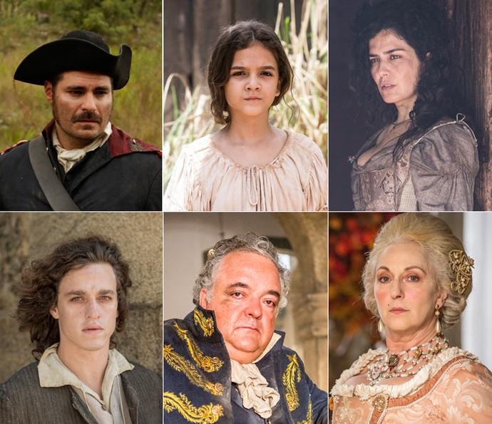 Conheça os personagens reais que fazem parte da história de 'Liberdade, Liberdade' (Foto: Gshow)