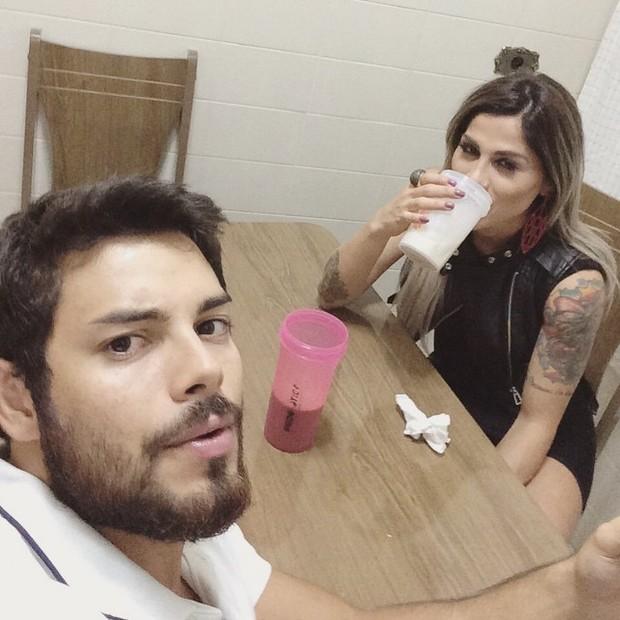 Pedro Andrade e Vanessa Mesquita (Foto: Reprodução/Instagram)