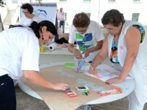 The Big Draw é o maior Festival de Desenho Livre do mundo (Foto: Emerson Ferraz)