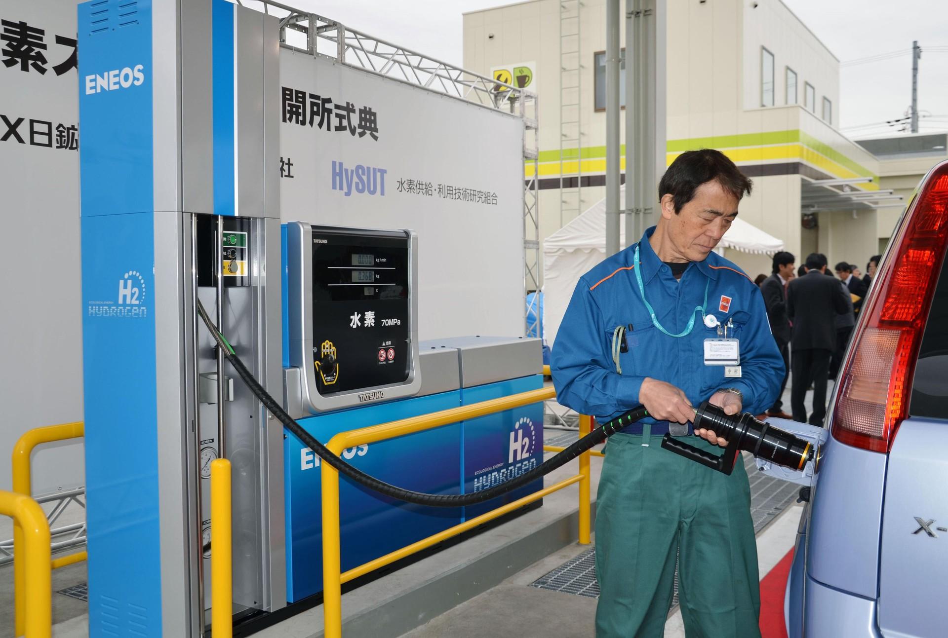 Japão inaugura primeira estação de hidrogênio para carros