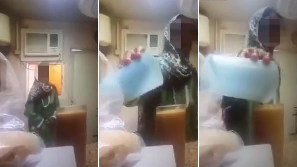 Funcionária deposita urina em copo de suco