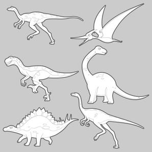 dinossauros novela