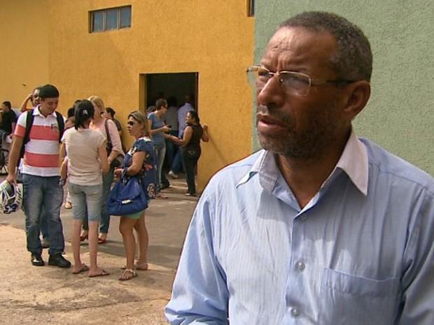 'A vida não vale mais nada', diz irmão da vítima morta em Ribeirão Preto (Foto: Reprodução/EPTV)