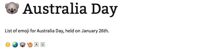 Coala é usado para celebrar Dia da Austrália (Foto: Reprodução/Melissa Cruz)