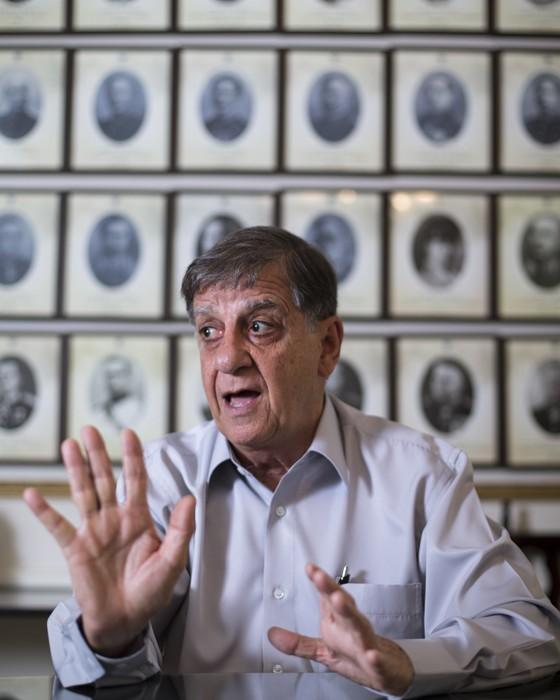 General Gilberto Pimentel, presidente do Clube Militar (Foto: Ricardo Borges/Folhapress)