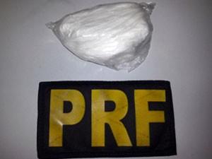 Cocaína foi apreendida pela PRF em Parnamirim, RN (Foto: PRF/Divulgação)