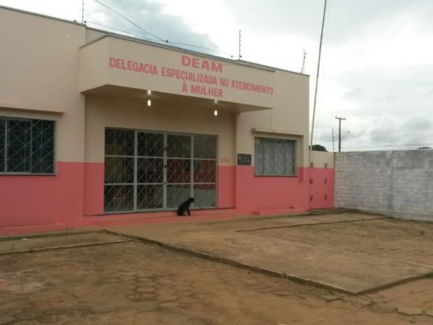 Delegacia Especializada no Atendimento à Mulher (DEAM) em Vilhena (Foto: Eliete Marques/G1)