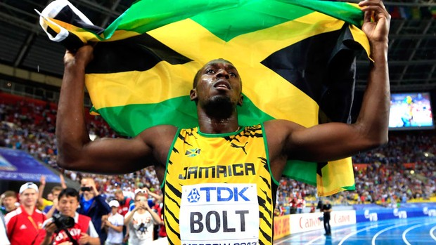 Bolt Mundial moscou 100 M (Foto: Getty Images)