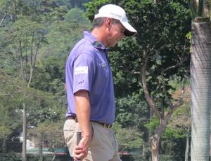 Adilson da Silva golfe Aberto do Brasil (Foto: Thales Soares)