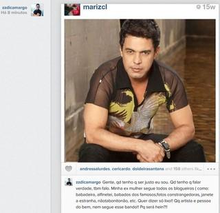 Zezé Di Camargo (Foto: Instagram / Reprodução)