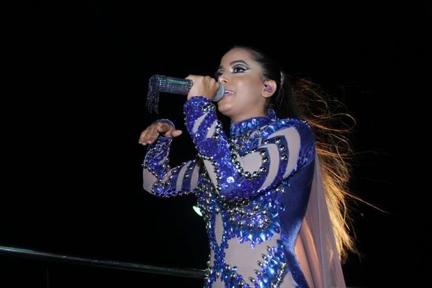Anitta em Salvador (Foto: Rodrigo dos Anjos/AgNews)