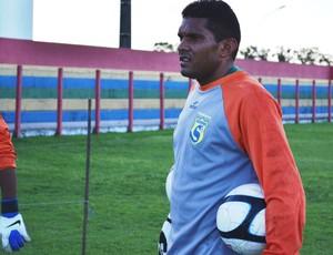 Goleiro Rudson está no Socorrense pela terceira vez  (Foto: Felipe Martins/GLOBOESPORTE.COM)