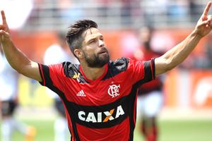 Diego Flamengo X figueirense (Foto: Gilvan de Souza / Flamengo)