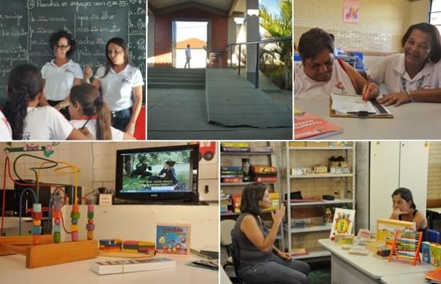 Avelinópolis, em Goiás, tem todas as escolas 100% acessíveis a deficientes (Foto: Vitor Santana/G1)
