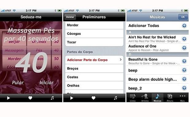 Esse aplicativo aquece as preliminares (Foto: Reprodução)