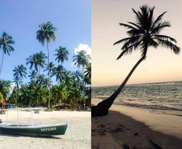 Foto de cartão Postal? Bom, essa é a vista da Praia dos Carneiros (Foto: João Augusto Anfe)