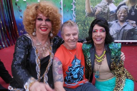 Jane Di Castro com Falabella e Eliana Rocha (Foto: Arquivo pessoal)