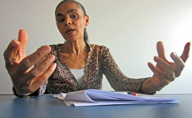 Marina Silva concede entrevista exclusiva ao G1/ Foto 3 (Foto: Fabiano Costa/G1)