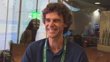 Guga Kuerten diz que se sentiu ativo na Olimpíada (RBS TV/Reprodução)