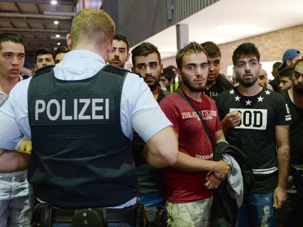 Alemanha é um dos principais destinos de refugiados na Europa (Foto: AFP Photo/Christof Stache)