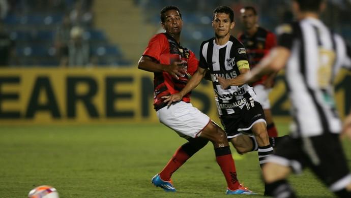Ceará x Guarani de Juazeiro Campeonato Cearense PV (Foto: Kleber A. Gonçalves/Agência Diário)